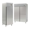 Edelstahl-Kühlschränke