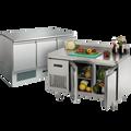 Tables et saladettes réfrigérées