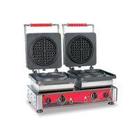 Gaufrier GMG KGW06 American 2plaques de cuisson avec minuterie