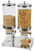 APS Cerealienspender -Classic- Duo ca. 35 x 50 cm, Höhe 68 cm