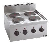 Cuisinière électrique Bartscher 600 Imbiss - appareil à poser
