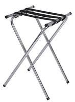 Porte-valise/ Support à plateaux professionnel haut - Acier inoxydable