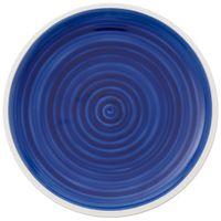 Villeroy & Boch Artesano Atlantic Blue Coupeteller flach 220 mm