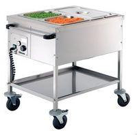 Chariot de service alimentaire Bartscher GN 2 x 1/1