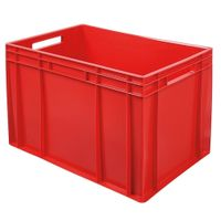 Euro-Stapelbehälter 600x400 mm, rot -  420 mm