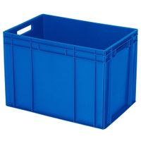 Bac empilable Euro 600 x 400 mm, bleu - 420 mm