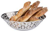 APS Brot- und Obstkorb -STRIPES- Ø 20 cm, H: 6 cm - Auslaufartikel