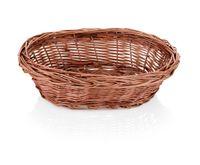 Brotkorb oval aus gesottener Vollweide, Abmessung 23 cm x 17 cm