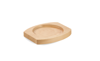 Dessous de plat en bois pour cocotte ronde en fonte