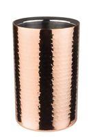 APS Flaschenkühler -COPPER-  Maße: Außen Ø 12 x H: 20 cm, für 0,7 - 1,5 Liter Flaschen