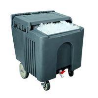 Ice-Caddy, Premium-Qualität, 110l, dunkelgrau