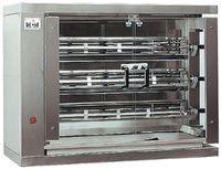 Vertikaler Hähnchengrill ECO 3 - mit Erdgas