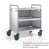 Blanco Servierwagenverkleidung Edelstahl 3-seitig für SW 8x5