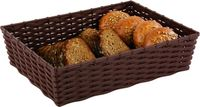 APS Korb -WICKER-LOOK- 39,5 x 29,5 cm, H: 10 cm