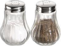 APS Salz und Pfefferstreuer  je Ø 5 cm, H: 6,5 cm