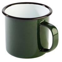 APS Henkelbecher -ENAMELWARE-  Ø 9 cm, H: 8 cm, 0,35 Liter