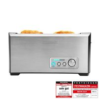 Pro 4S Toaster Edelstahl