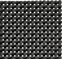 APS Tischläufer - schwarz  45 x 150 cm