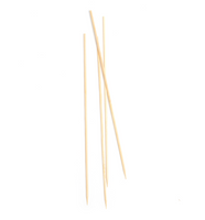 COMAS Cubiertos Bio Bambus Spieße Classic 250 mm