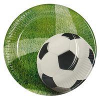 "Papstar Pappteller, rund, Ø23 cm, beschichtet, ""Fußball Wiese"" - 10 Stück"