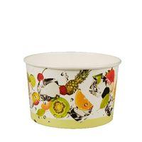 Coupe à glace Papstar Pure - «fruits» L ronde ; carton - 100 pièces - 250 ml