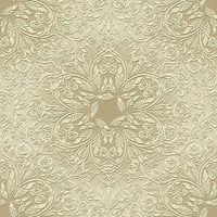 """Papstar Serviette """"Rosette"""", 1/4 Falz, Gold-Weiss"""