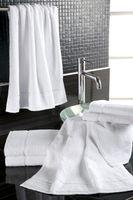 Serviette en tissu éponge City blanc - 30 x 50 cm