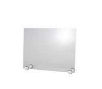 Paroi de protection hygiénique ROUND WHITE APS 750x570