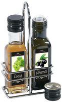 Ménagère huile/vinaigre 9,5 x 5 x 18,5cm