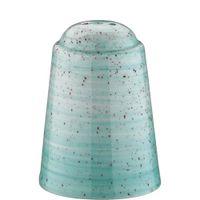 Bonna Premium Porcelain Aura Aqua Banquet Salzstreuer 7 cm, hellblau