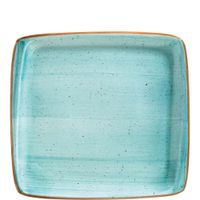 Bonna Premium Porcelain Aura Aqua Moove Platte 22 x 20 cm, hellblau