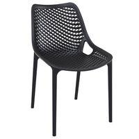 Chaise de terrasse Air Chair noire – 4 pièces