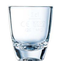 Arcoroc Gin 12 Schnapsglas Füllstrich bei 2cl