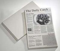 APS Wachspapier - SNACK HOLDER- 42 x 25 cm, Zeitungsmotiv