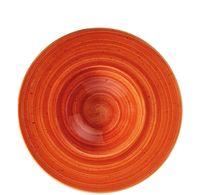 BONNA  Terracotta Banquet Teller tief 28cm