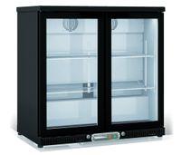 Barkühlschrank Profi 200 Liter schwarz