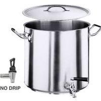 Serie 2100 Hoher Kartoffelkocher, Boden Durchmesser 40cm Inhalt: 70 Lt.