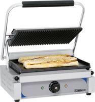 CASSELIN - Grill panini plaques rainurée - lisse