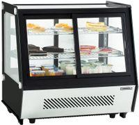 CASSELIN - Vitrine réfrigérée à poser double portes 125L