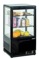 CASSELIN - Mini vitrine réfrigérée positive 58L Noire