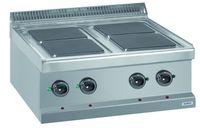 Fourneau électrique Dexion série 77 - 70/70 à poser avec plans de cuisson carrés