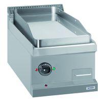 Elektrogrillplatte Dexion Serie 77 - 40/70 glatt, verchromt - Tischgerät