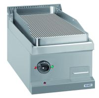Elektrogrillplatte Dexion Serie 77 - 40/70 gerillt - Tischgerät