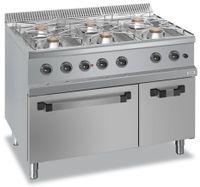 Fourneau à gaz Dexion 70/110 + four à gaz GN 2/1 - 42 kW