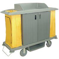 Jantex Zimmerservicewagen mit 2 Wäschesäcken, 2x90l