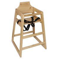 Chaise haute Bolero blanc antique