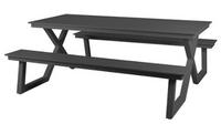 Tisch-Set Darby Schwarz