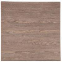 Bolero quadratische Tischplatte Vintage Holz 60cm