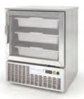 Armoire réfrigérée à poisson Premium 125l avec porte vitrée