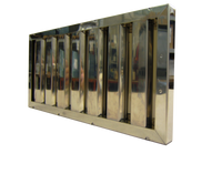 Flammschutzfilter Eco Bauart B, 300x500x20 mm mit Griff
